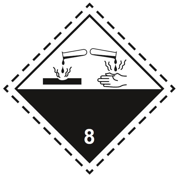 Знак опасности 8-го класса