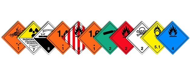 классификация опасных грузов по ДОПОГ