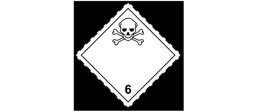 Правильный знак опасности 6.1