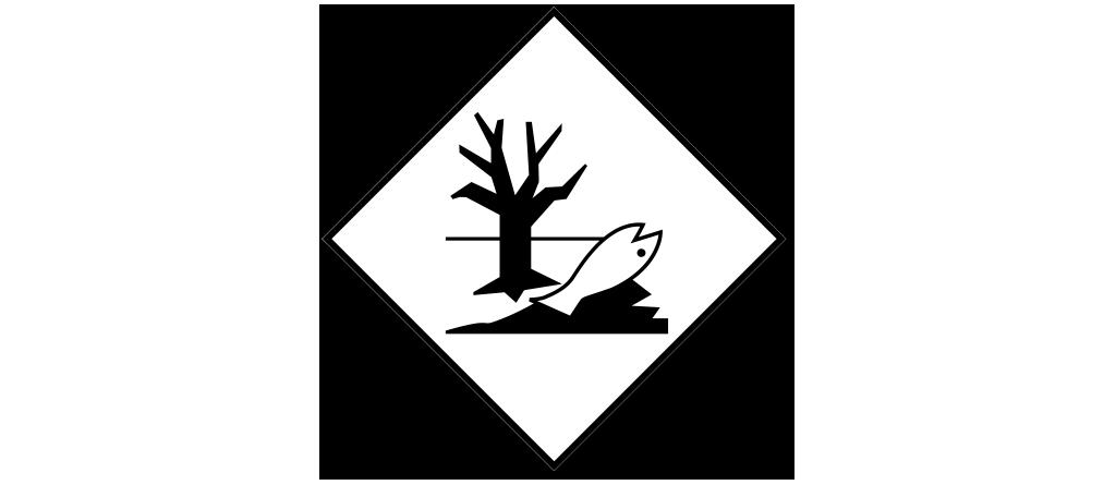 Правильный знак вещества опасного для окружающей среды